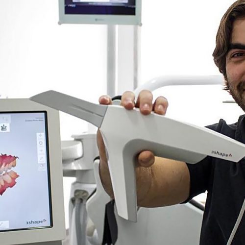 3Shape Dental Scanner